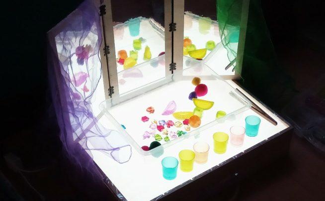 La caja de luz como recurso pedagógico y creativo