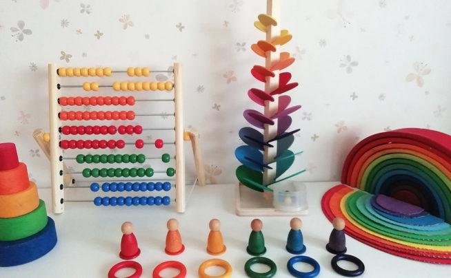 Juegos y materiales DIY de inspiración Montessori, Waldorf y Reggio Emilia