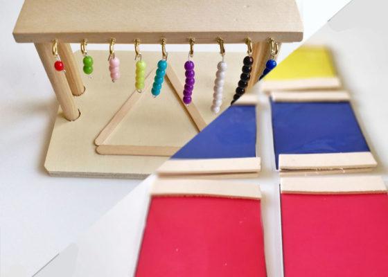 """Pack cursos: """"Teoría Montessori con creación de materiales"""" y """"Ambiente Montessori con creación de materiales"""""""